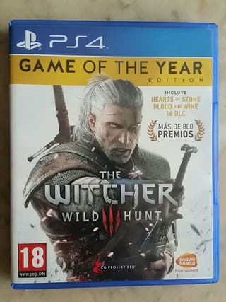 The Witcher 3 edición completa ps4