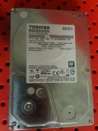 disco duro 2Tb TOSHIBA