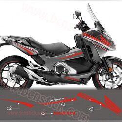 Kit pegatinas Honda Integra