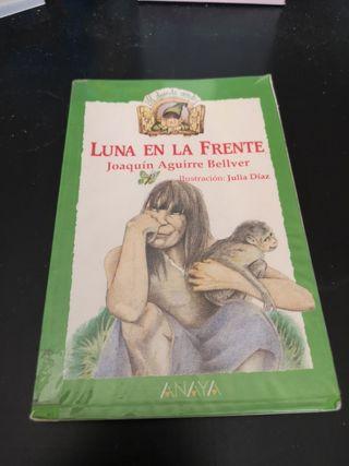 Libro juvenil Luna en la frente
