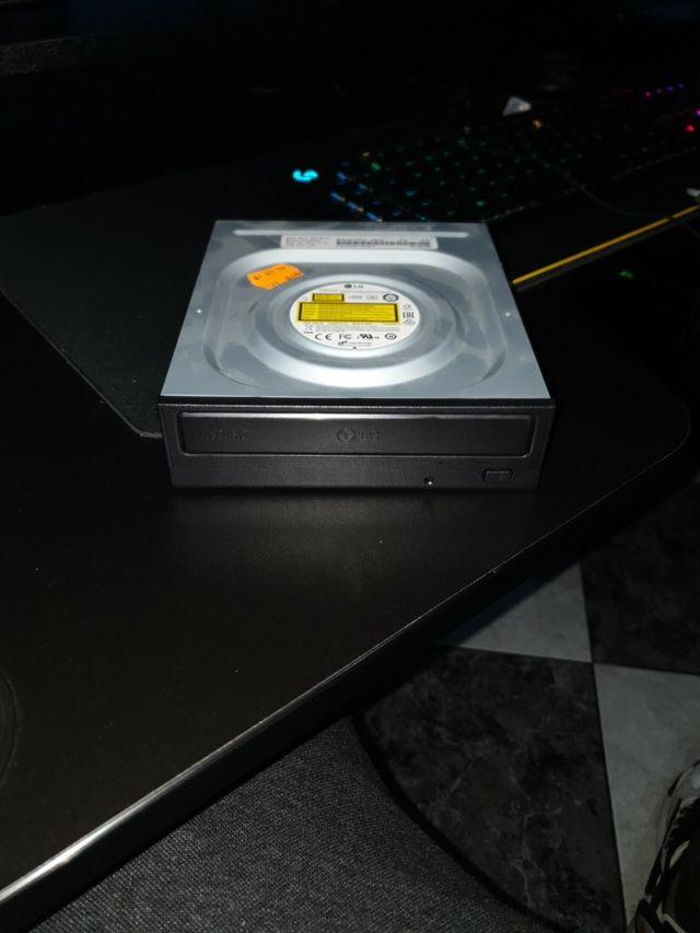 Reproductor/Grabadora DVD/CD para PC