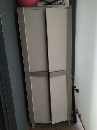 armario de resina