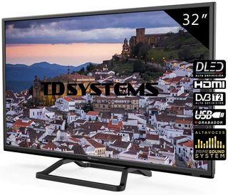 TD Systems Televisores LED 32 Pulgadas K32DLM10H.