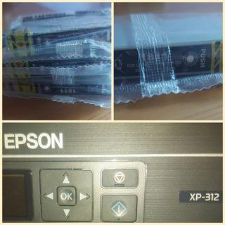 Cartucho tinta negra Epson XP-312