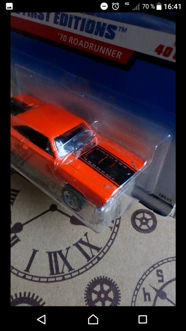 '70 Roadrunner Red 1998 First editions