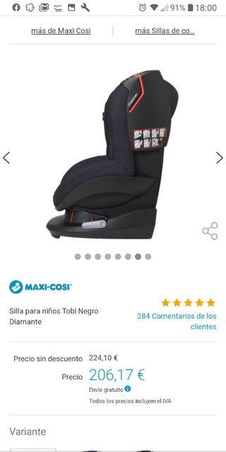 silla coche marca maxicosi
