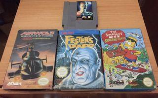 Lote juegos Nintendo NES Pal España