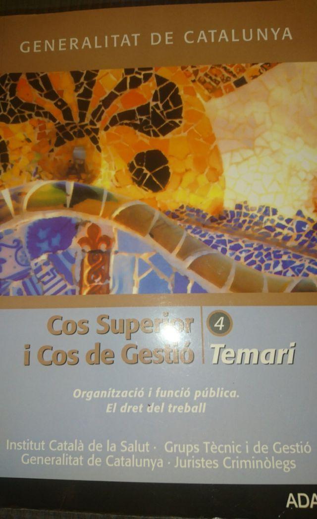 Libro De La Adams Oposiciones Generalitat De Segunda Mano Por 20 En Barcelona En Wallapop