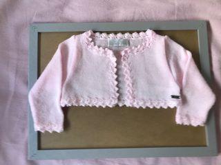 Chaqueta rosa Dolce Petit 6 meses