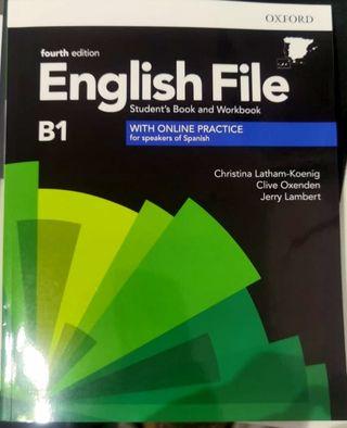 libro Inglés B1 English File Fourth edition