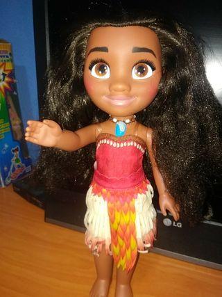muñeca vaiana 33cm disney