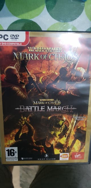 "juego ""marketing of chaos"" de warhammer"