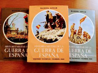 """Libros, """"Guerra de España"""""""