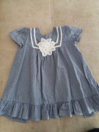 Vestido Zara talla 12-18m