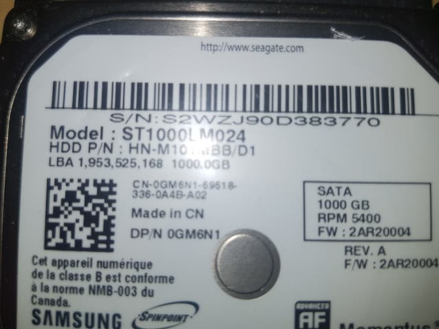 disco duro de 1tb