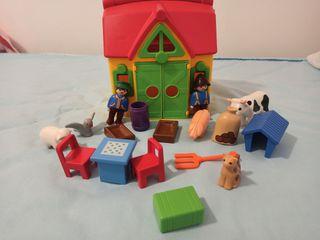 Granja maletín de Playmobil 123