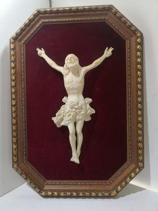 Cuadro Figura Cristo Marmolina PO9051