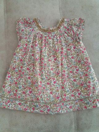Vestido verano Zara talla 12-18m