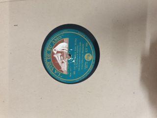 lote 10 discos gramola en estuche
