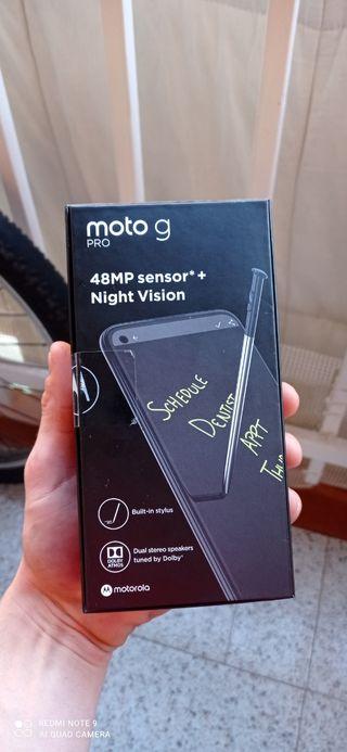 Motorola G pro con lapiz