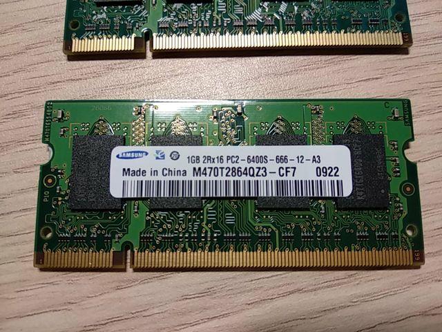 Memoria RAM 1GB para pc portátil