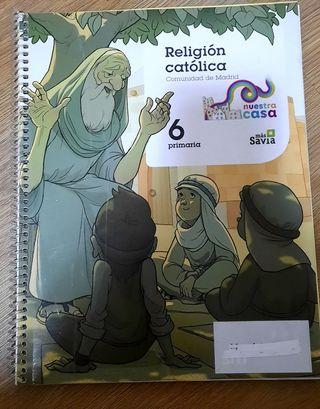 libro religión 6º