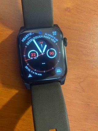 Apple Watch 4 Acero Inoxidable Negro DLC