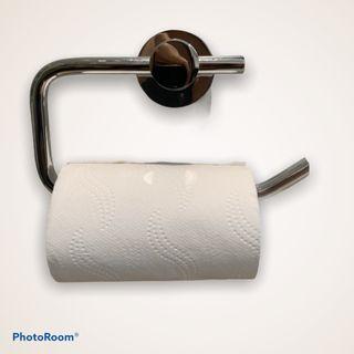 Porta Rollos Papel Higiénico Adhesivo