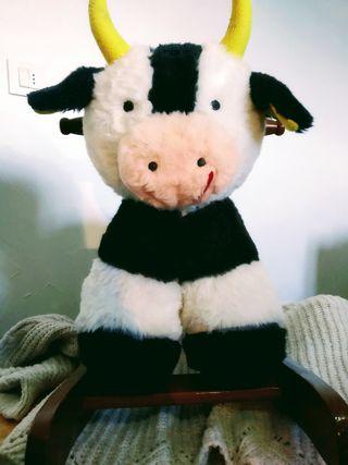 Vaca Mecedora de peluche para bebé