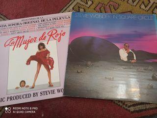 Stevie Wonder Lote de 2 vinilos
