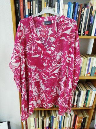 Blusa transparente Yessica Talla M.