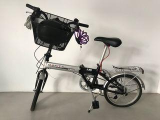 Bicicleta Monty F18