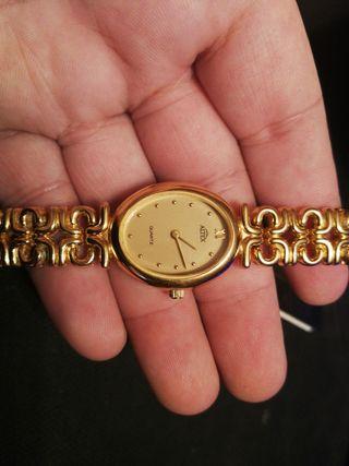 Reloj Altex de oro laminado 18 kilates