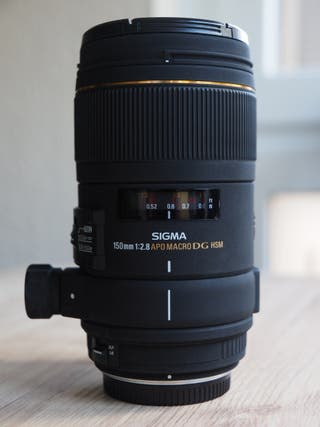 Sigma 150 f2.8 macro para 4/3