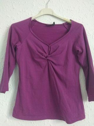 camiseta morada trucco talla 40