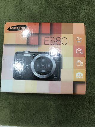Cámara de fotos Samsung ES80