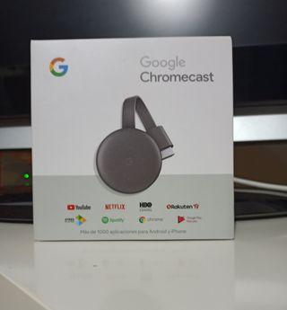 Chromecast versión 3 nuevo