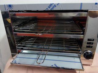 Tostador pan bar dos pisos con temporizador