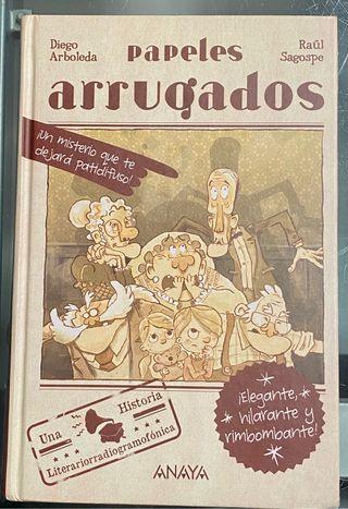 Libro Papeles arrugados, de Diego Arboleda, Anaya