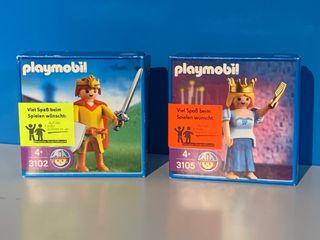 Promocionales de Wella 3102 y 3105 playmobil