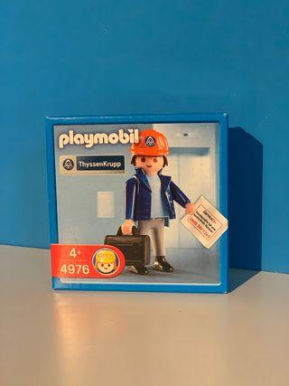 Playmobil ref. 4976 Ingeniero Thyssenkrupp