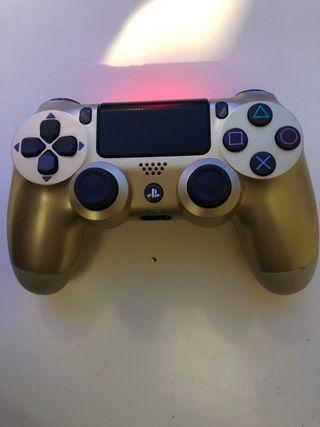 Mando ps4 nuevo color oro