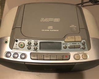 Radio CD/ Cassete mp3 Sony