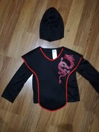 Disfraz ninja 3-6 años