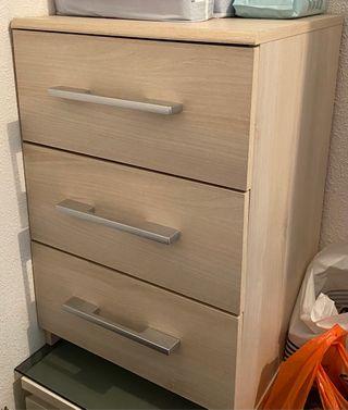 Mueble auxiliar beige