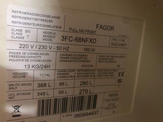 Accesorios varios frigorífico Fagor