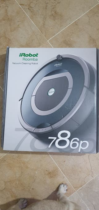 roomba 786p robot aspirador