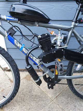 mens 50cc motorised Mountain bike
