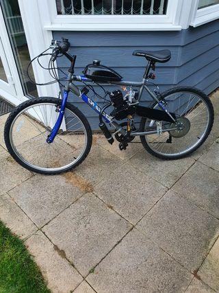 mens 50cc motorised Mountain bike