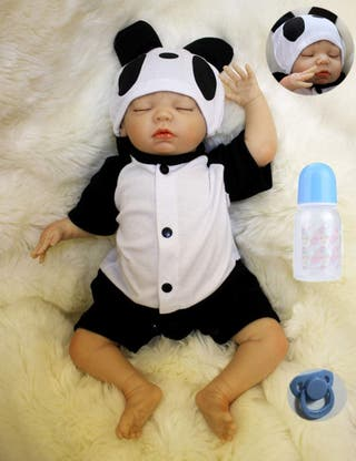 50cm Silicona Suave Vinilo Reales Bebes Reborn